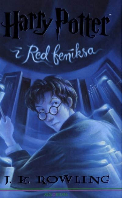 Harry Potter i Red feniksa J. K. Rowling Algoritam